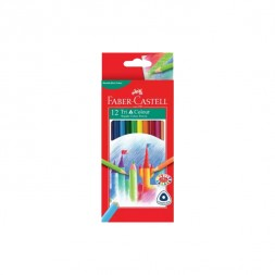 Faber Castell Classic Colour Pencils (Long)