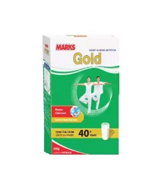Marks Gold High Calcium Low Fat Milk Powder for 40+ yrs