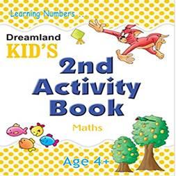 Dreamland Kid's  (2nd Activity Book-Maths)