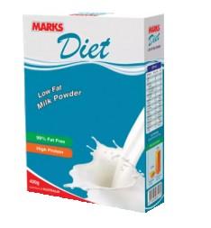 MARKS Diet Low Fat Milk Powder